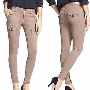 Joie So Real Skinny Jeans Pants Cargo Pocket Sz 26